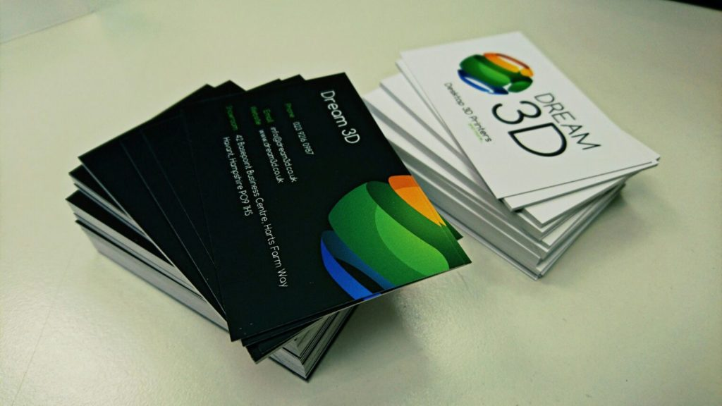Dream 3D Business Cards