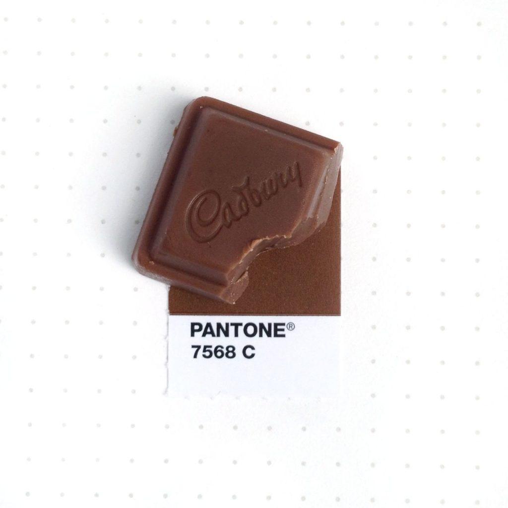 Pantone Cadbury