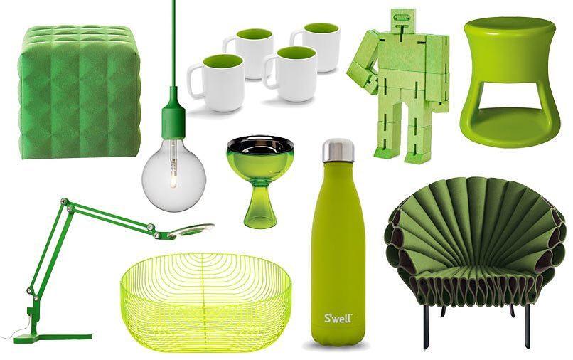 Pantone Greenery